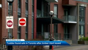3-year-old subject of Amber Alert found safe in Toronto